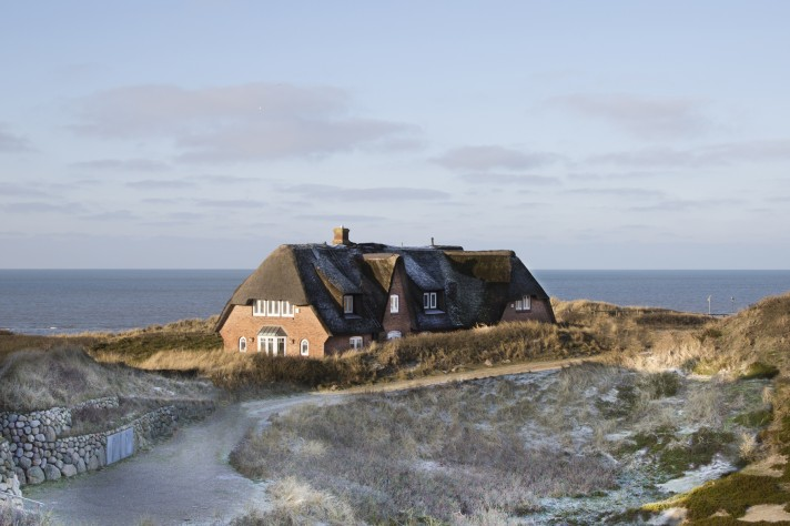 Anwesen am Meer