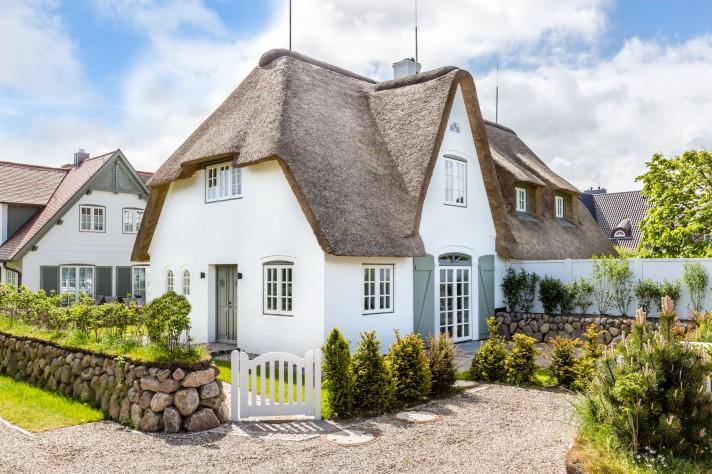 Home Staging Reetdachhaus auf Sylt