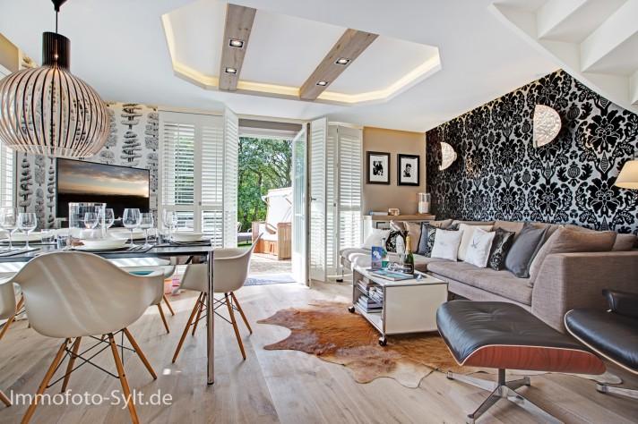 Immofoto Foto Sylt Wenningstedt Ferienhaus Ferienwohnung Immobilie